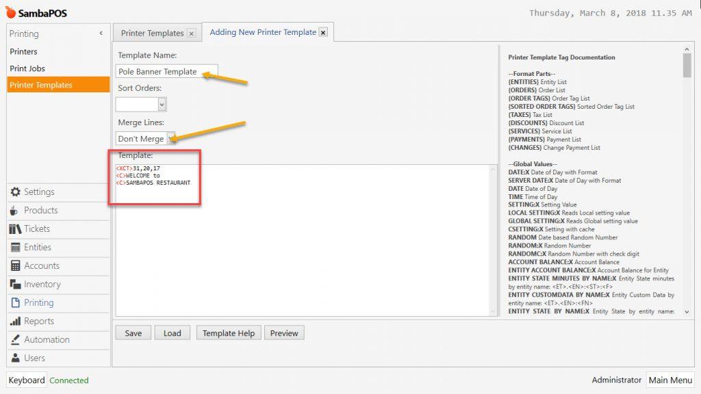 3 7  How to Setup Pole Display / Customer Display VFD? – SambaPOS