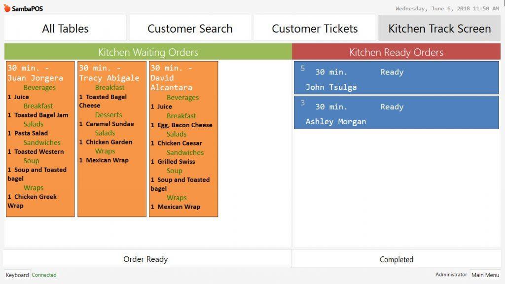 4 13 How To Generate Kitchen Display Sambapos Knowledgebase